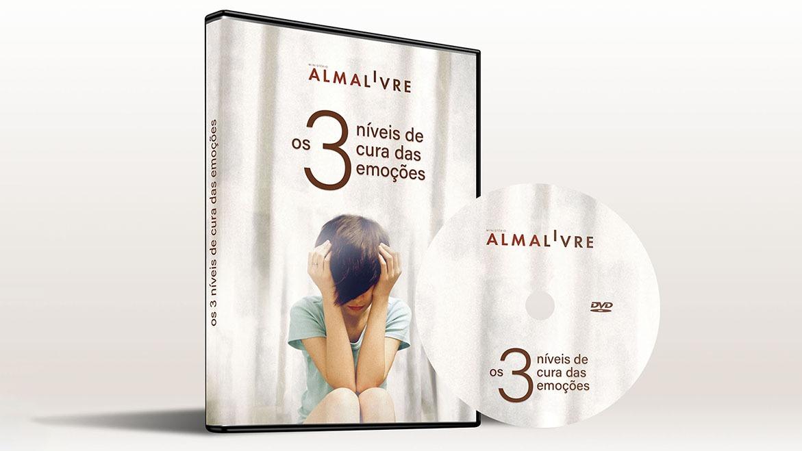 DVD Os três níveis de cura da alma.