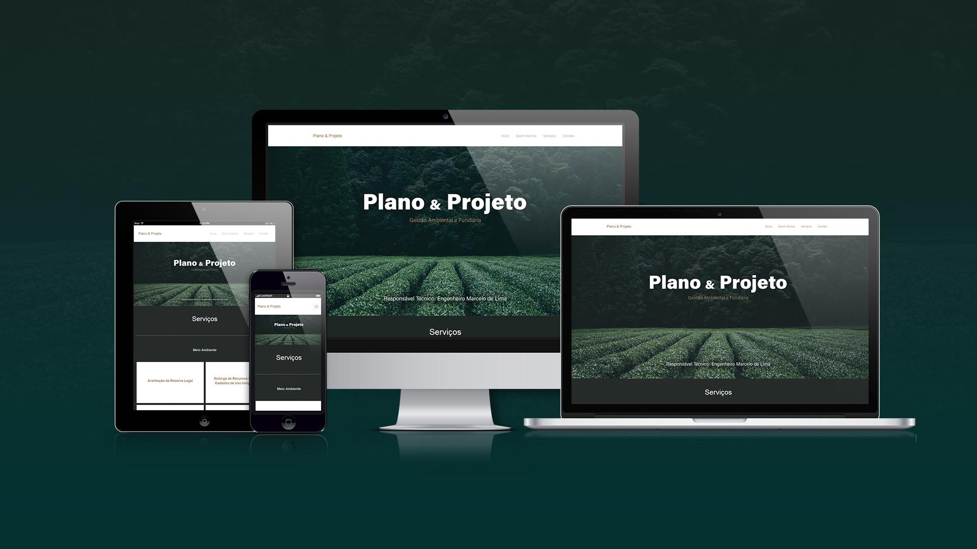 Plano e Projeto
